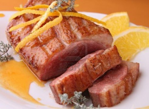 -duck-breast-with-orange-sauce
